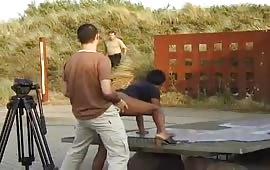 रेशमा ने अपनी चूत दो लंडों से चुदवाई